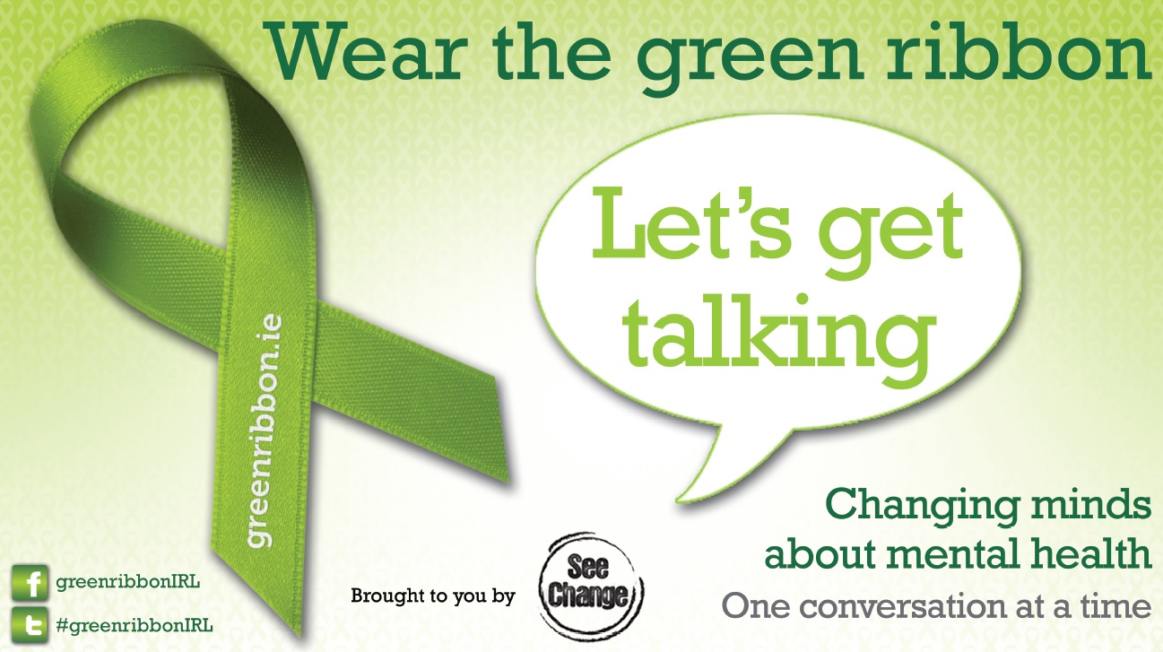 Greenribbon.ie - Changing minds about mental health, one conversation at a time.