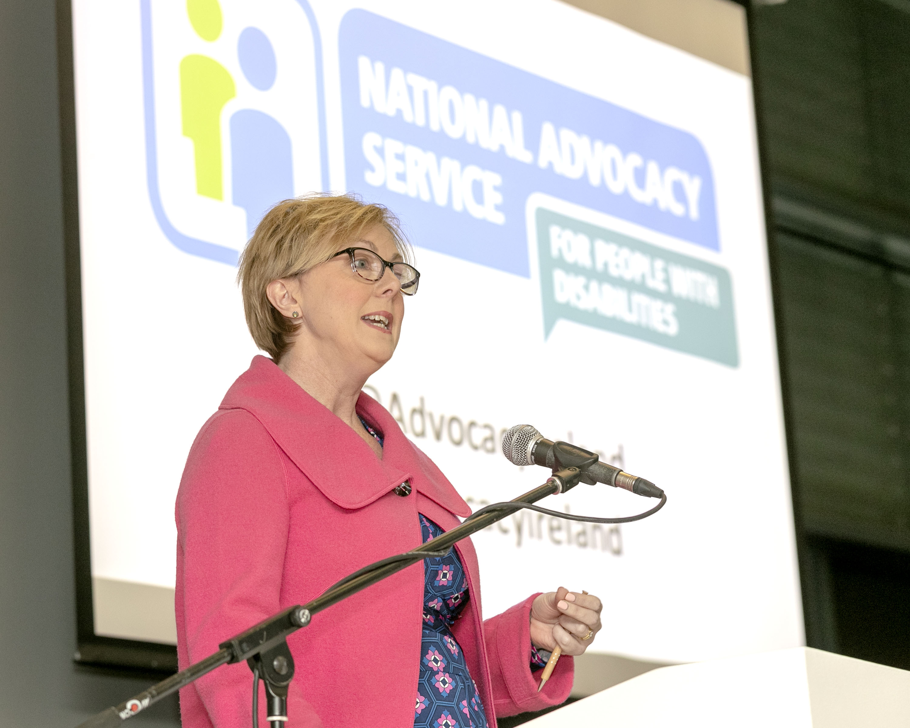 Minister Regina Doherty launches the NAS Annual Report 2017 and Strategic Plan 2018-2021
