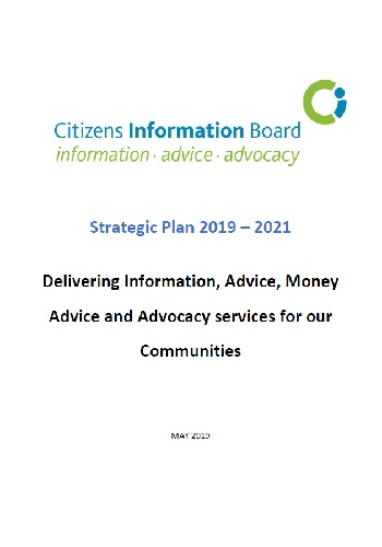 Cover of Strategic Plan 2019