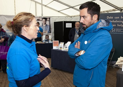 Susan Ryan, South Leinster CIS Regional Manager and Minister for Housing, Planning and Local Government, Eoghan Murphy.