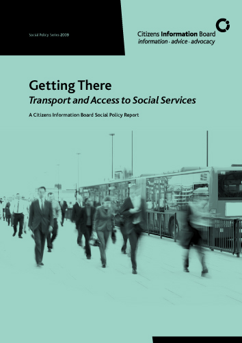 Cover of Getting There: Transport and Access to Social Services (2010)