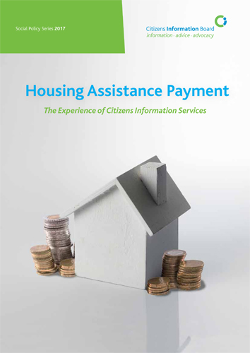 Housing Assistance Payment (HAP) The experience of Citizens Information Services
