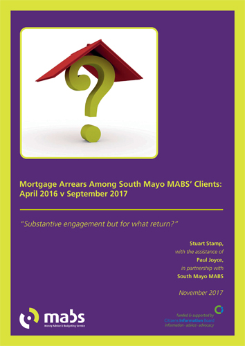 Mortgage Arrears Among South Mayo MABS Clients (2017)